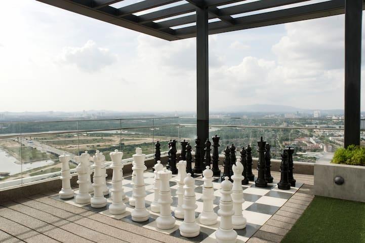 Tropez Danga Bay Seaview Studio - Johor Bahru - Apto. en complejo residencial
