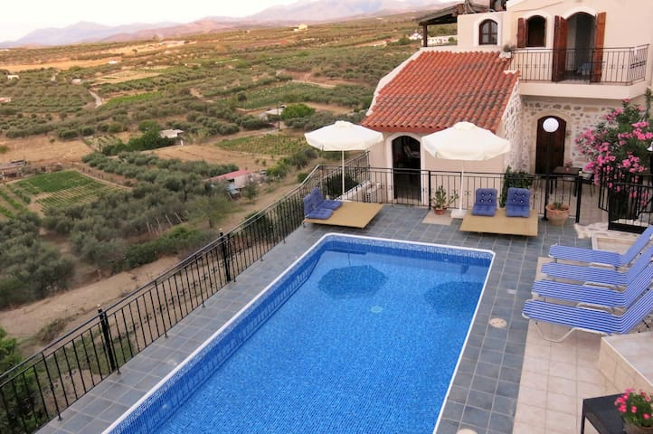 Elia Villas - Naias Family Stone home & Pool - Heraklion