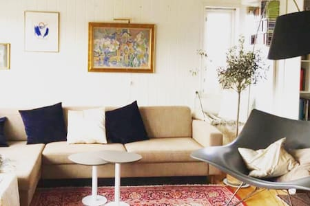 Cosy room near Oslo with hiking, fjord & beaches