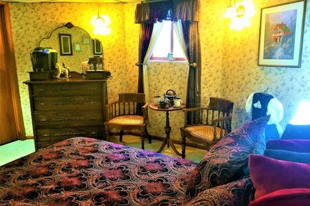 Rose Room - Steampunk Manor Bed & Breakfast