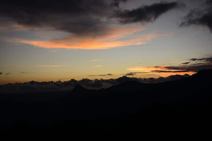 Sunset View In Munnar