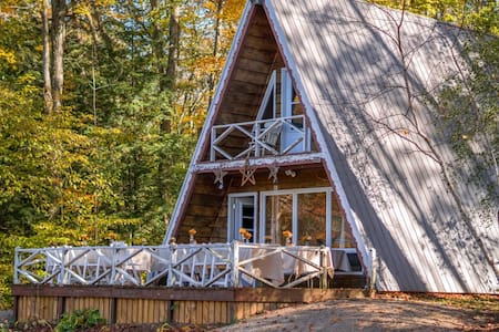 Up The Creek A-Frame Cottage