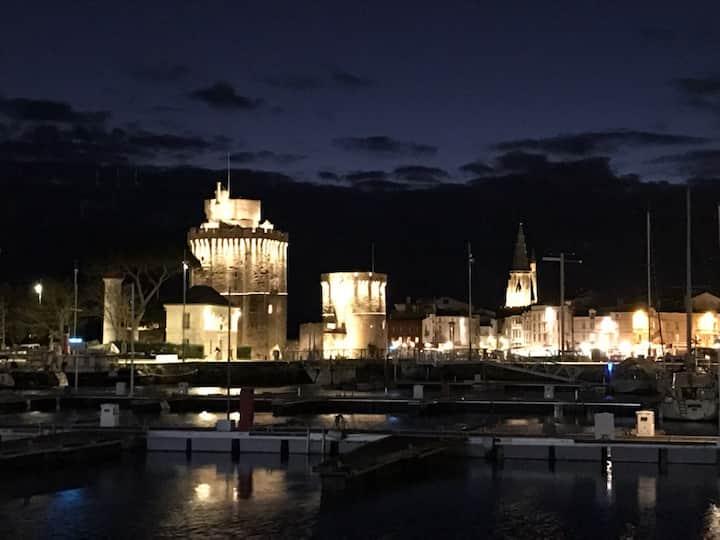 Cœur de ville vue sur les tours