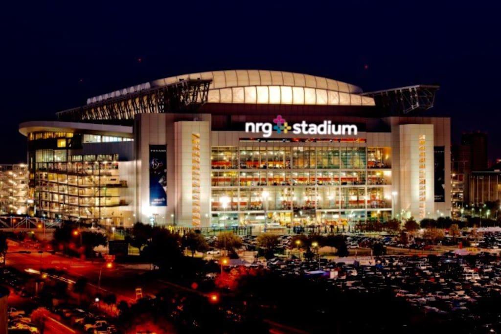 Super Bowl NRG Stadium.