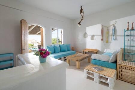 Mediterranean apartment by the sea