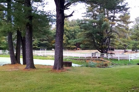 Antiquing, Sturbridge village, and Horse Retreats!