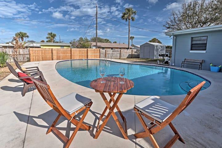 Ormond Beach House w/ Pool - 5 Miles to Daytona!