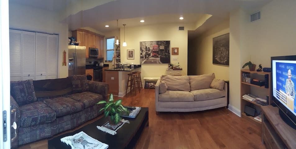 Comfortable and spacious apartment - Washington - Pis