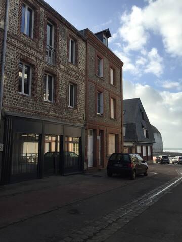 Studio 2 pers plage d'Yport 12 km d'Etretat