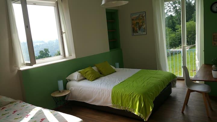 Chambre privée haut de gamme long et moyen séjour