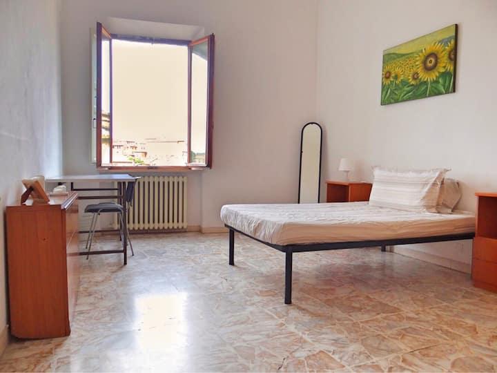 Single room in Siena Center