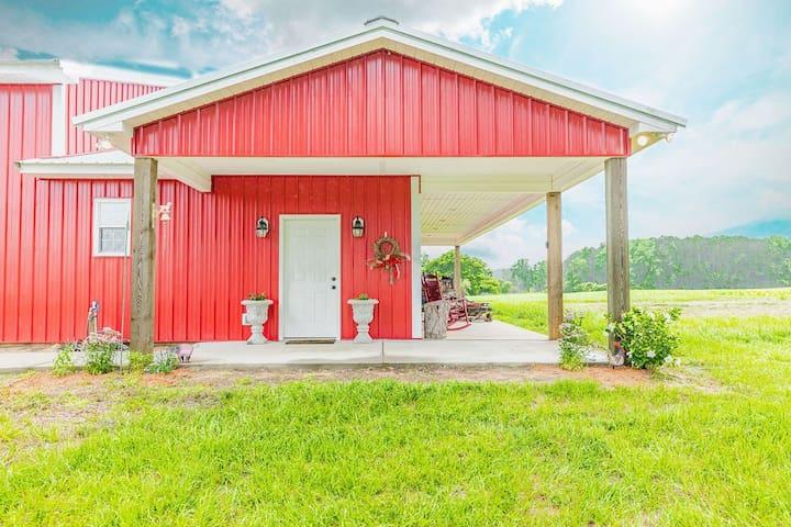 Cozy barn get-away!