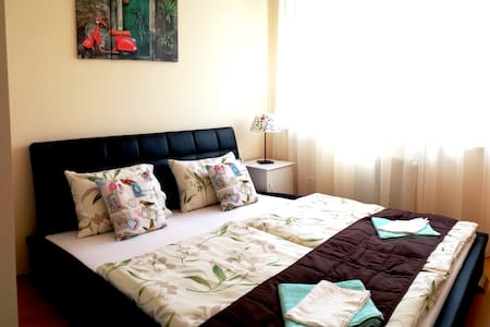 Room with private bathroom - Centre - Budapest - Bed & Breakfast