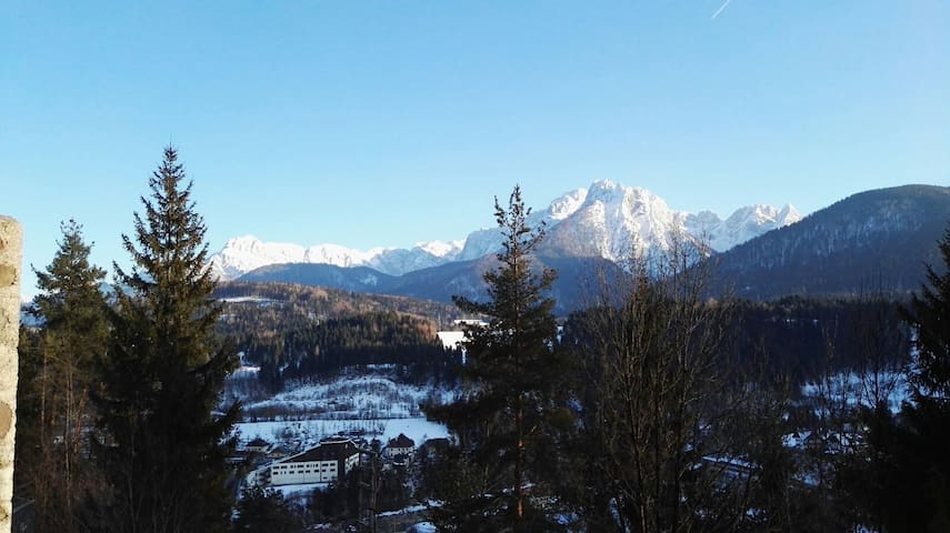Lovely view of the Dolomites Montains - Tarvisio