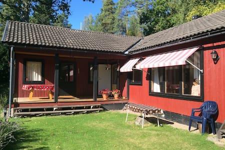 Comfortable retreat at Orrhammar lake - Flen NV