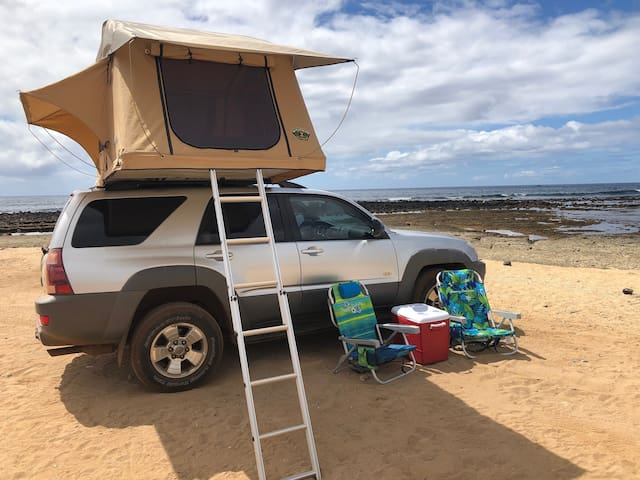 """Silver Surfer"" Roof Top Adventure Rig"