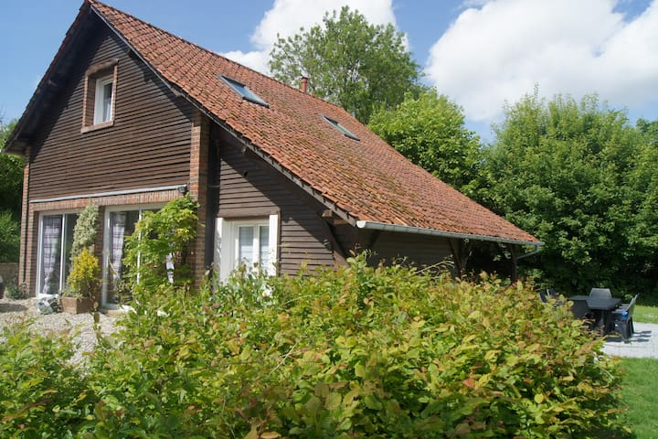 Gîte charmant proche de la baie de Somme - Limeux - Natuur/eco-lodge