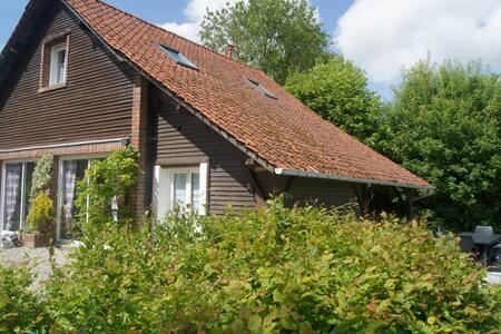 Gîte charmant proche de la baie de Somme - Limeux - 自然小屋