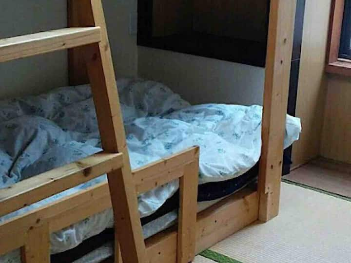 Bunk bed twin room【Guesthouse Angosō】