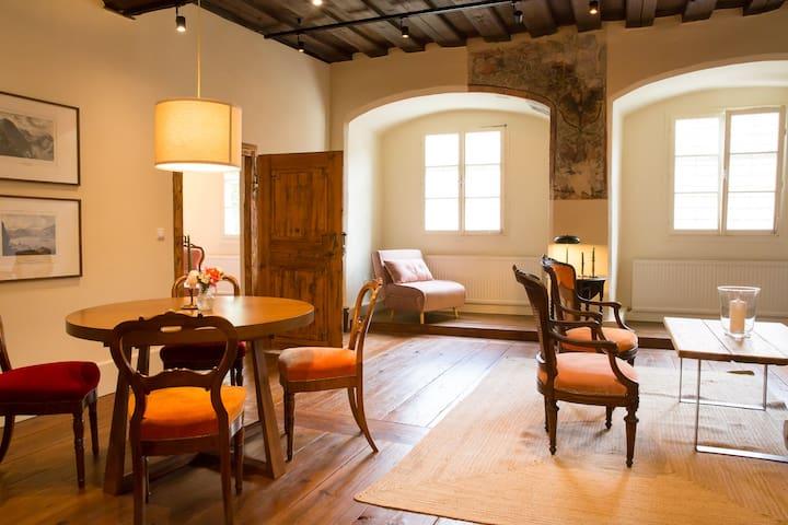 Das Appartement mit den Fresken