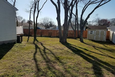 North Cape May Beauty, DOG Friendly, Fenced Yard