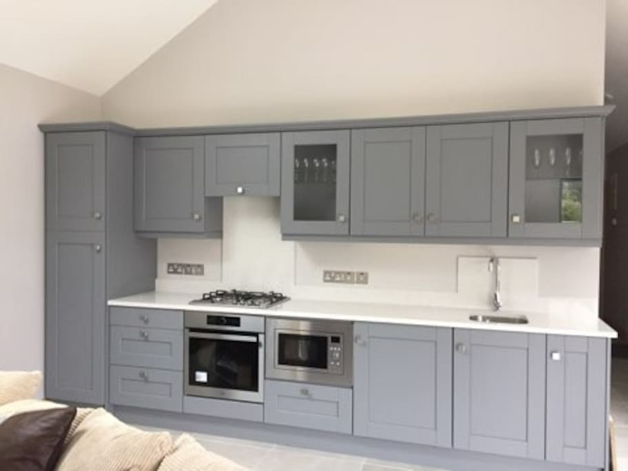 Newly fitted high quality kitchen