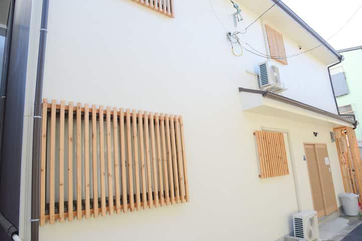 【可住12位】大阪心斋桥难波通天阁四室两厅两卫日式独栋别墅