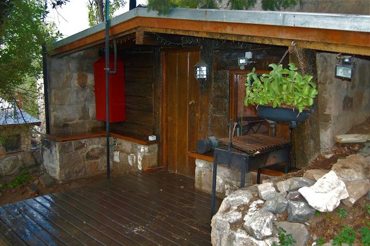 Farellones Verschneite Lodge 1