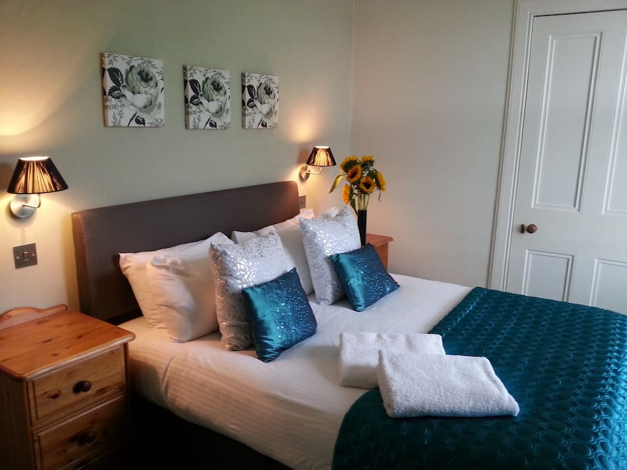 Double Room with luxurious touches to make your stay as comfortable as possible