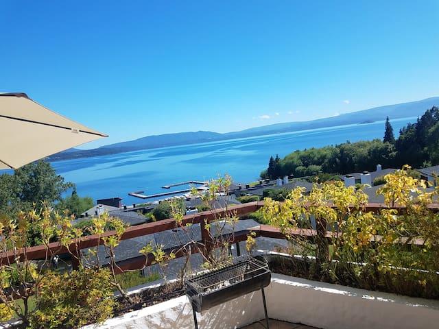 Vista Privilegiada a Orilla de Lago