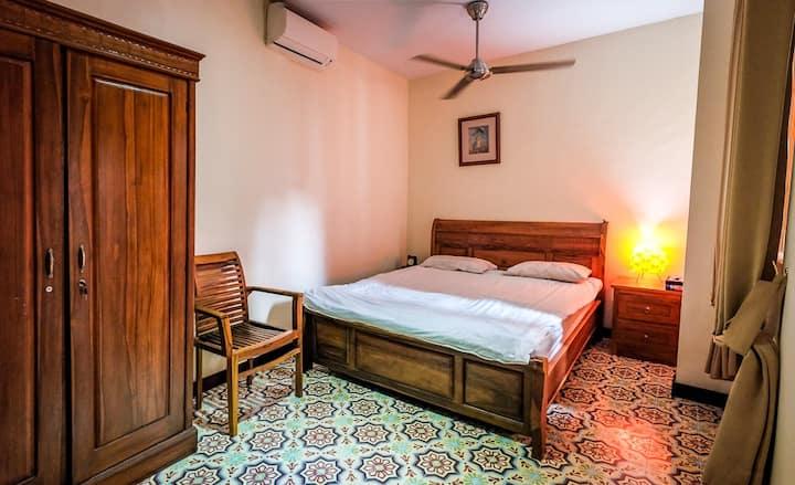 Balinese traditional room European comfort