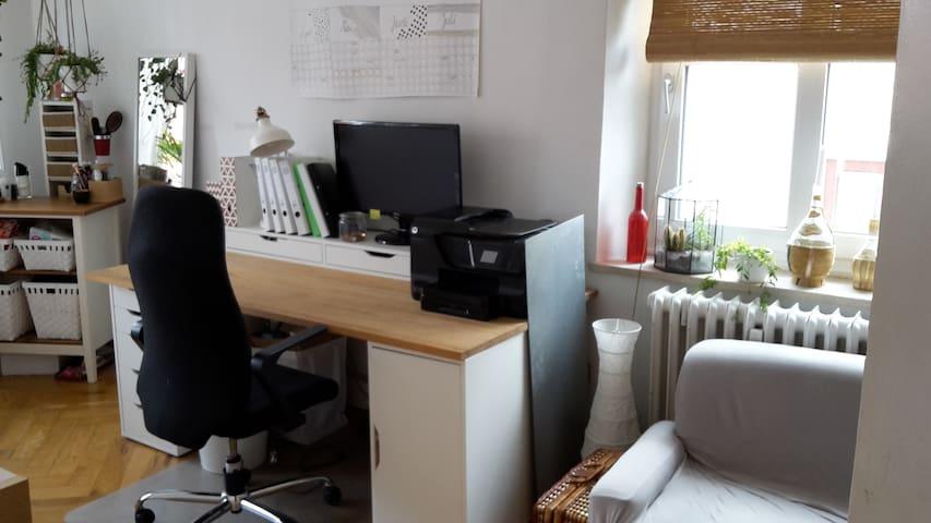 Nutzbarer Schreibtisch
