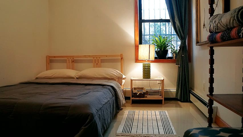 Clean Bedroom in Bushwick, Brooklyn