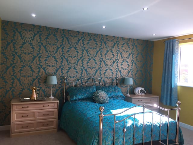 Boutique Kingsize Bedroom in St Annes