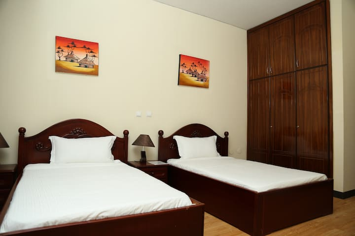 Luxury penthouse in Bole, Addis Ababa double bed