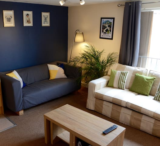City Centre Apartment - Close to Castle & Stadium - Cardiff - Appartement