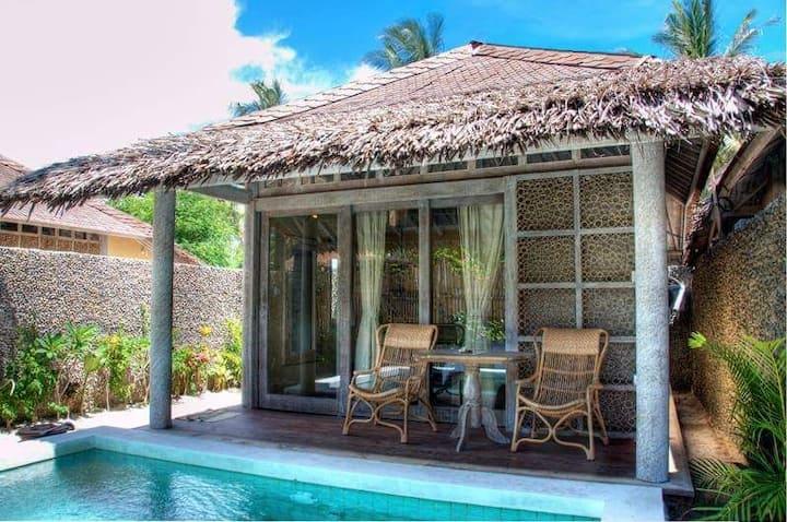 Villa Anoe 17 Gili Trawangan with Private Pool
