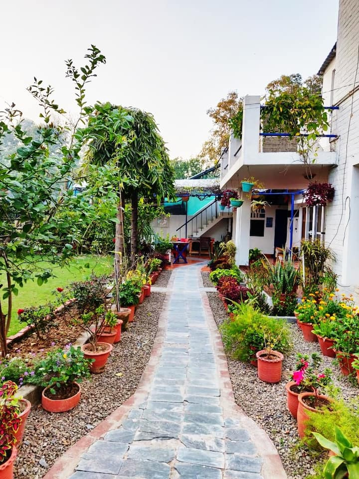 Rahat Vatika Peaceful Adobe Bed N Breakfast 2 Houses For Rent In Chandigarh Chandigarh India