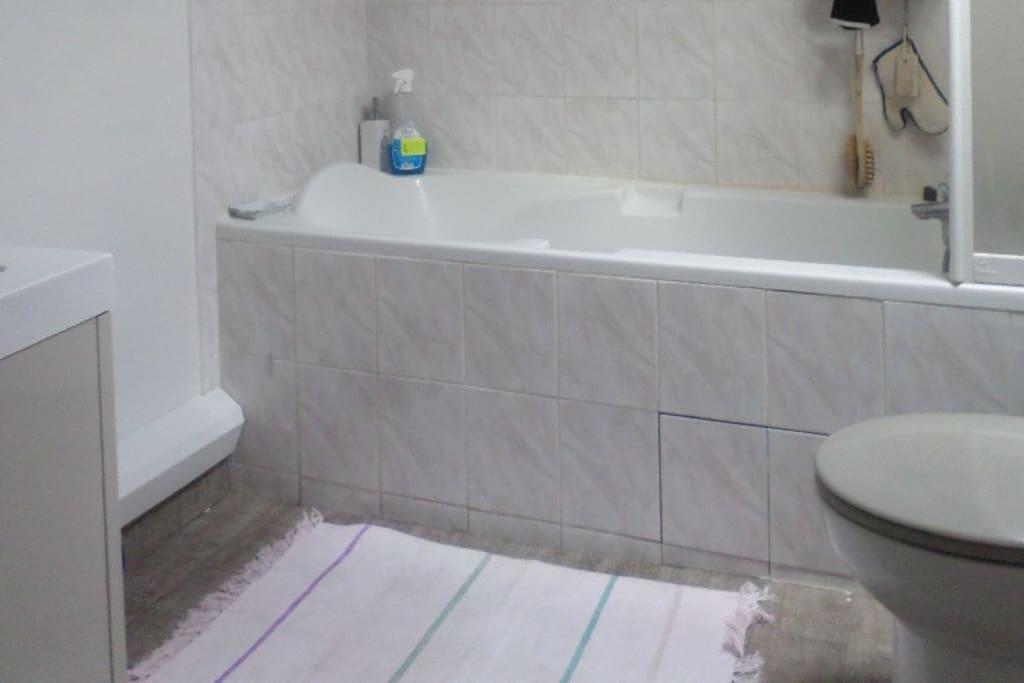 Salle de bains + WC