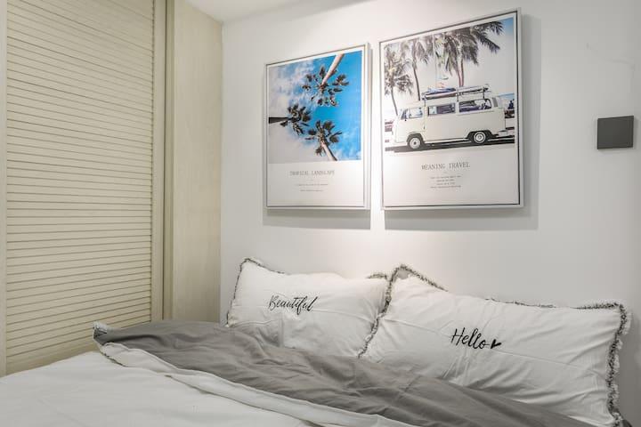 【HOSTAY·大白】巨幕电影房/复式loft/近会展中心/购物公园/福田口岸