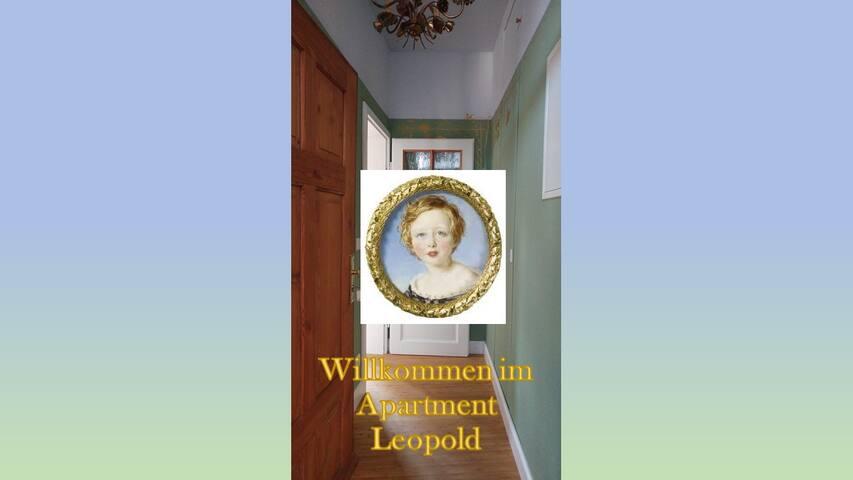 Ferienwohnung mit Balkon - Apartment Leopold
