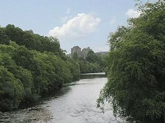 Doune Castle and River Teith