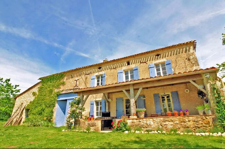 Idyllic Rural French Living meets Boutique Luxury