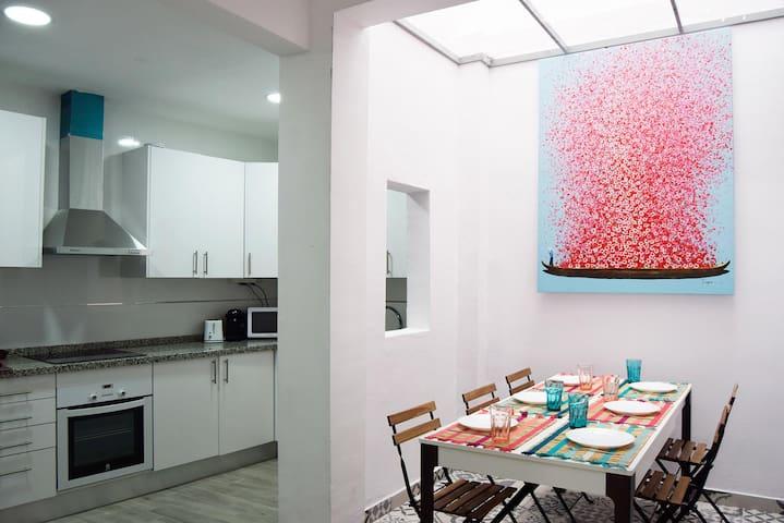 Habitación doble en casa compartida 1