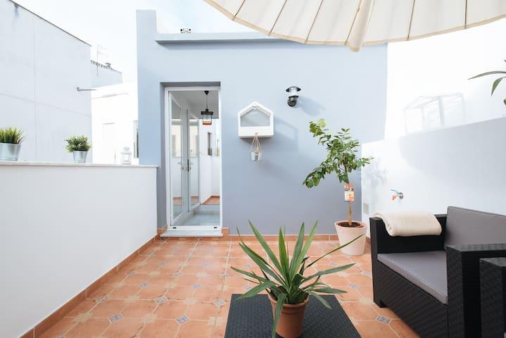 Desing House with Rooftop in Alameda de Hércules