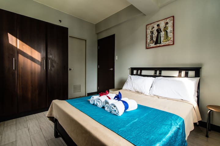 Pool Newport 1BR Nr Resorts World❤ NAIA Airport T3