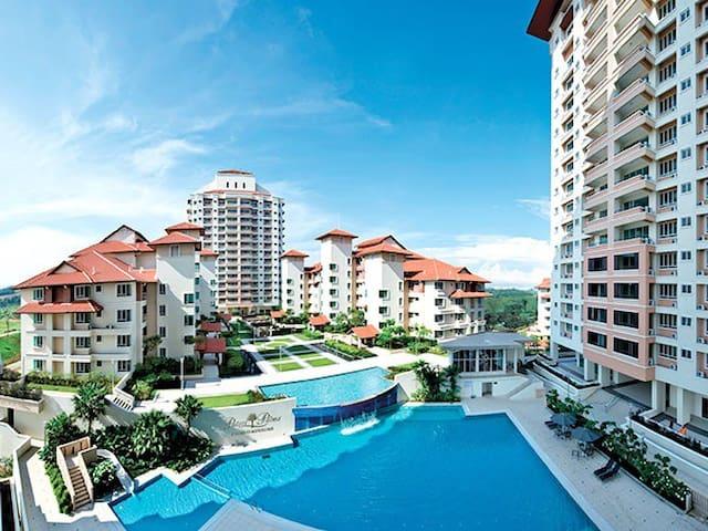 Cozy resort in Putrajaya Puchong - Putrajaya - Apto. en complejo residencial