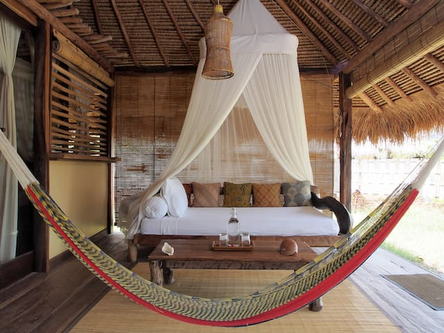 Sea View Eco Lodge Bungalow with extra bed