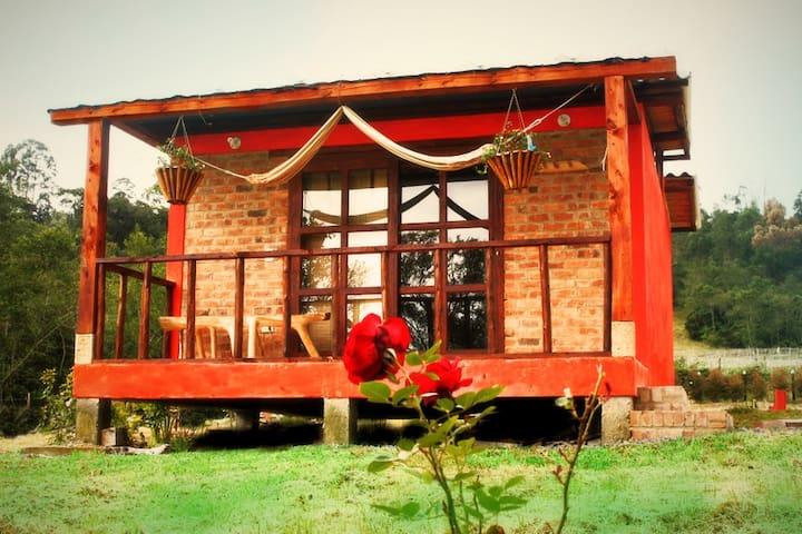 Acogedora cabaña en la naturaleza - Arcabuco - Bed & Breakfast