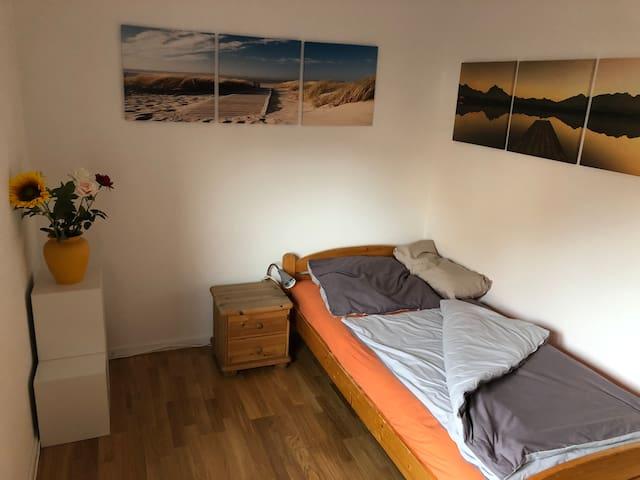 Zimmer in Messenähe